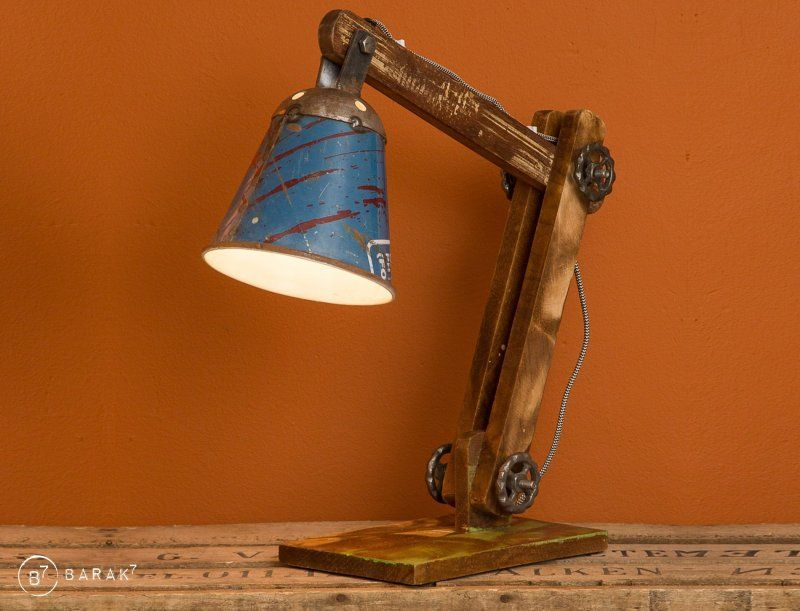 Industriële tafellamp Recycled