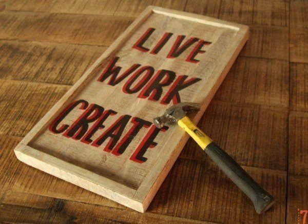 Hangbord Live, Work, Create