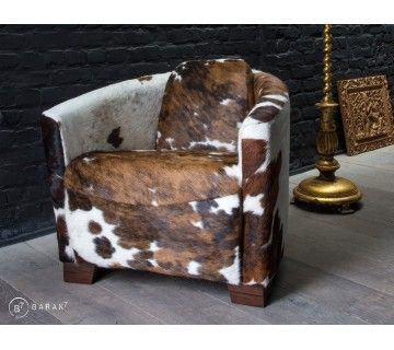 "Aviator fauteuil ""Cowhide"""