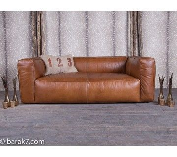 Lounge Sofa Cognac