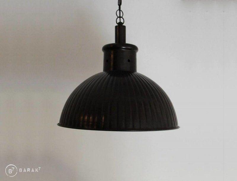 Industriële hanglamp koper